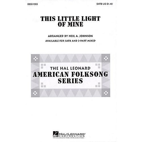 Hal Leonard This Little Light of Mine SATB arranged by Neil Johnson