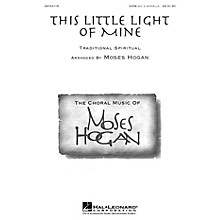 Hal Leonard This Little Light of Mine (SATB div.) SATB DV A Cappella arranged by Moses Hogan