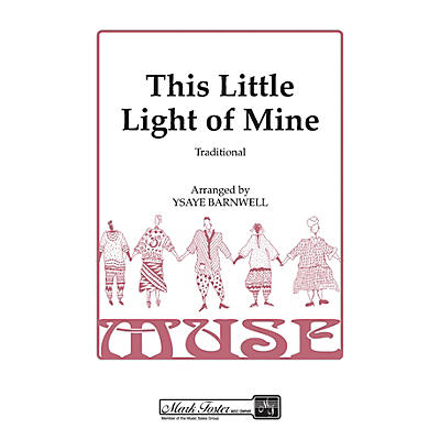 Shawnee Press This Little Light of Mine SSAA A Cappella arranged by Ysaye Barnwell