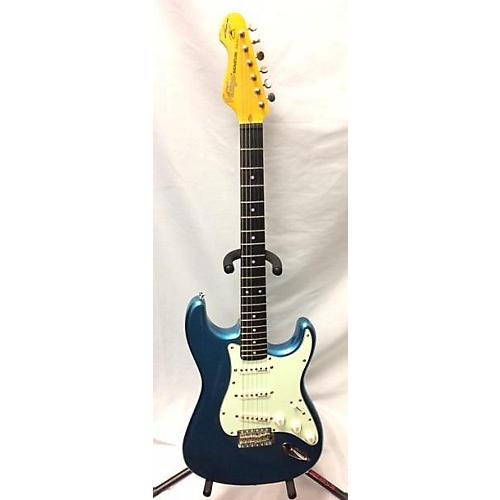 Vintage Thomas Blug Solid Body Electric Guitar Lake Placid Blue
