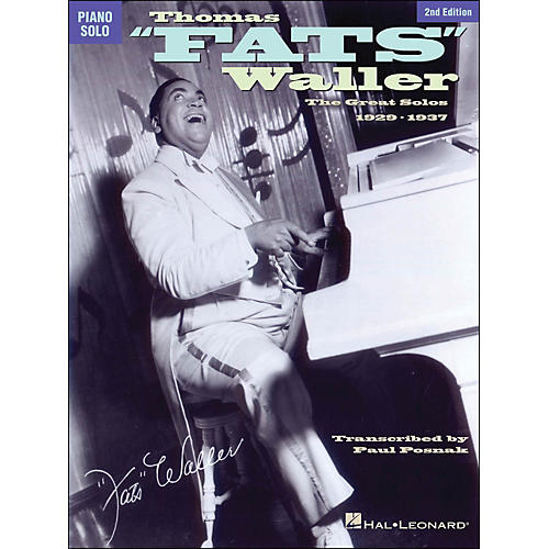 Hal Leonard Thomas Fats Waller - The Great Solos 1929-1941 arranged for piano solo