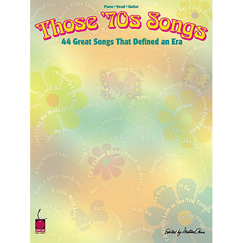 Cherry Lane Those 70's Songs Book