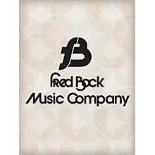 Fred Bock Music Thou Art Worthy SATB Arranged by Fred Bock