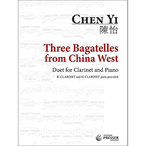 Carl Fischer Three Bagatelles from China West - Clarinet with Piano
