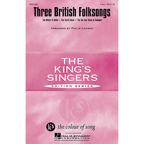 Hal Leonard Three British Folksongs 2-Part arranged by Philip Lawson