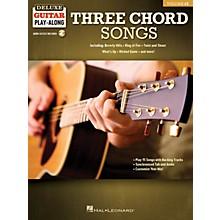 Hal Leonard Three Chord Songs Deluxe Guitar Play-Along Volume 12 Book/Audio Online