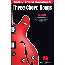 Hal Leonard Three Chord Songs Guitar Chord Songbook
