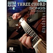 Hal Leonard Three Chord Songs Guitar Play-Along Volume 5 Book/Audio Online