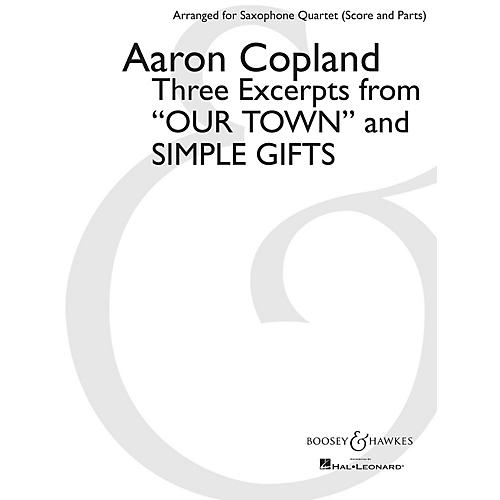 Boosey and Hawkes Three Excerpts from Our Town and Simple Gifts Boosey & Hawkes Book by Copland Arranged by Paul Cohen