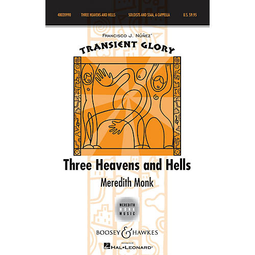 Boosey and Hawkes Three Heavens and Hells SSAA WITH SOLO A CAPPELLA composed by Meredith Monk