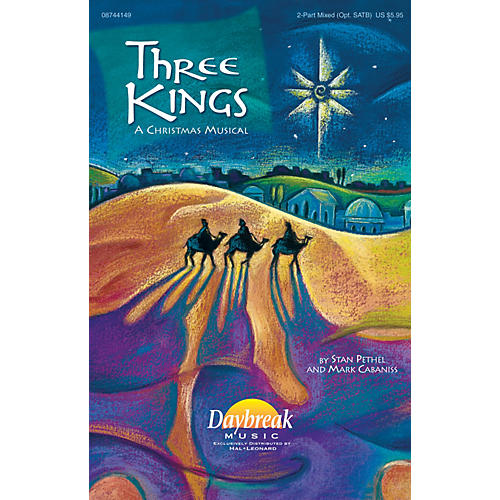 Daybreak Music Three Kings 2 Part Mixed composed by Mark Cabaniss