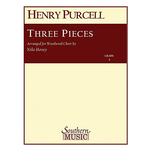 Southern Three Pieces (Woodwind Choir) Southern Music Series Arranged by Nilo W. Hovey