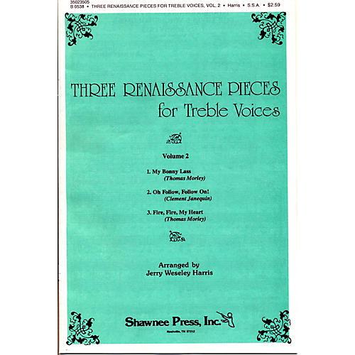 Hal Leonard Three Renaissance Pieces Vol. 2 SSA