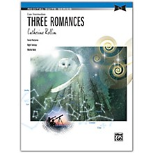 Alfred Three Romances Late Intermediate