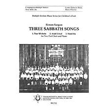 Transcontinental Music Three Sabbath Songs 2-Part arranged by Simon Sargon
