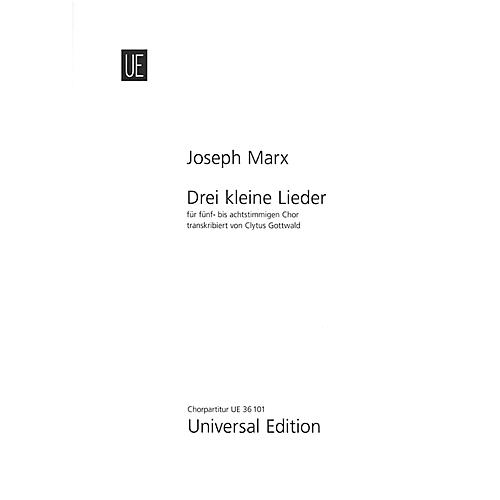 Carl Fischer Three Small Songs - Mixed Chorus