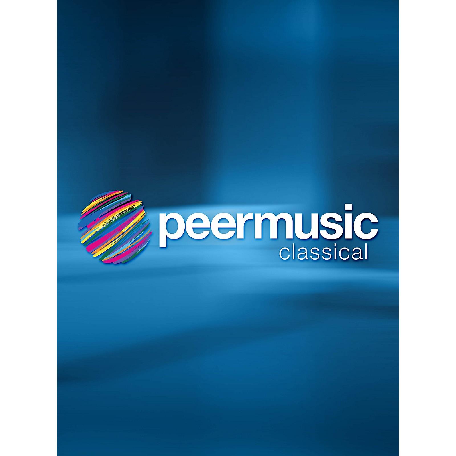 Peer Music Three Songs on Poems of Paul Kane - High Voice and Marimba Peermusic Classical Series by Richard Wilson