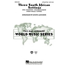 Hal Leonard Three South African Settings (Collection) 3 Part Treble arranged by Cheryl Lavender