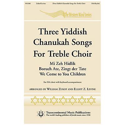 Transcontinental Music Three Yiddish Chanukah Songs for Treble Choir SSA