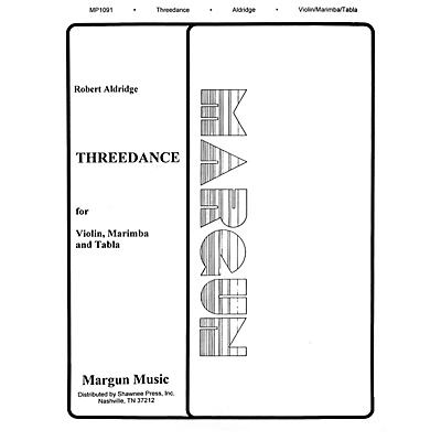 Margun Music Threedance Shawnee Press Series by Robert Aldridge