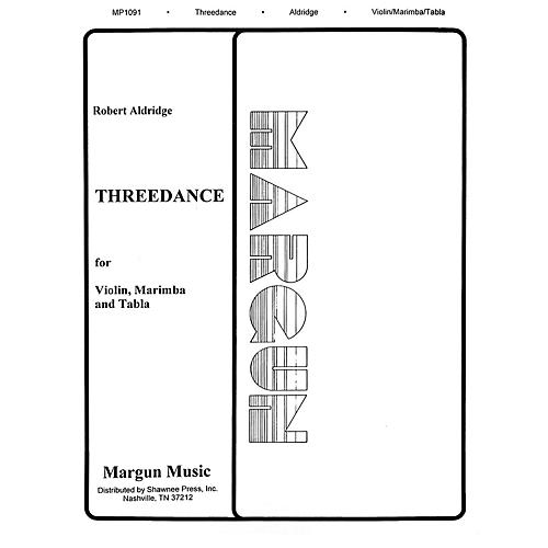Margun Music Threedance Shawnee Press Series by Robert Aldridge