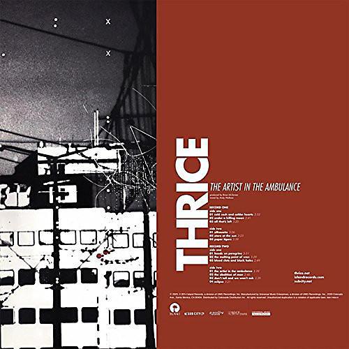 Alliance Thrice - Artist in the Ambulance