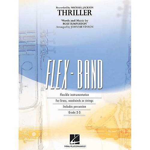 Hal Leonard Thriller Concert Band Level 2 by Michael Jackson Arranged by Johnnie Vinson