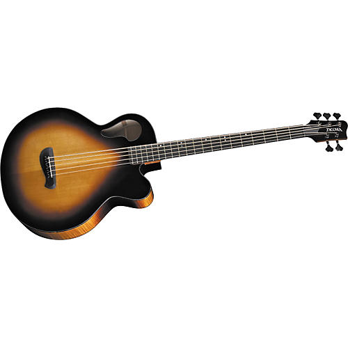 tacoma thunderchief 5 string acoustic electric bass guitar musician 39 s friend. Black Bedroom Furniture Sets. Home Design Ideas