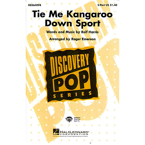 Hal Leonard Tie Me Kangaroo Down Sport 2-Part arranged by Roger Emerson