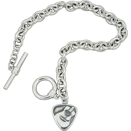 Jeffrey David Tiffany-Style Acoustic Pick Charm Bracelet