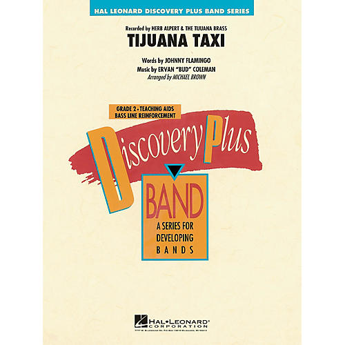 Hal Leonard Tijuana Taxi - Discovery Plus Band Level 2 arranged by Michael Brown