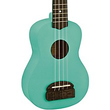 Tiki Soprano Ukulele Sea Foam Green