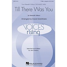 Hal Leonard Till There Was You (from The Music Man) TTBB A Cappella arranged by David Giardiniere