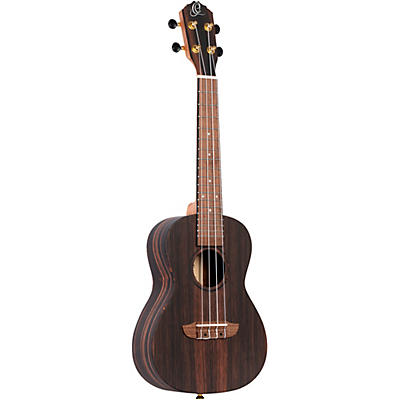 Ortega Timber Series RUEB-CC-L Left-Handed Concert Ukulele