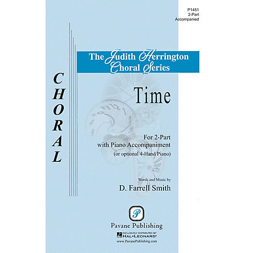 Pavane Time 2-Part composed by D. Farrell Smith