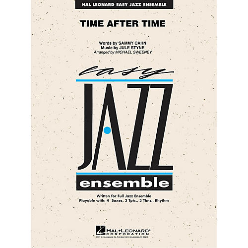 Hal Leonard Time After Time Jazz Band Level 2 Arranged by Michael Sweeney
