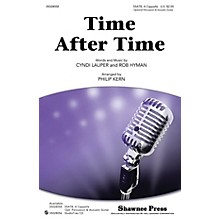 Shawnee Press Time After Time SSATB by Cyndi Lauper arranged by Philip Kern