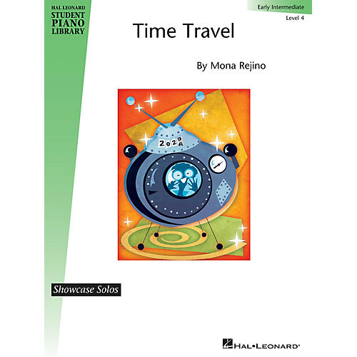 Hal Leonard Time Travel Piano Library Series by Mona Rejino (Level Early Inter)
