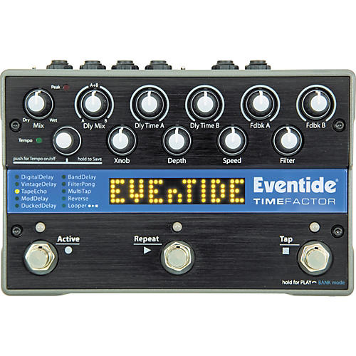 Eventide TimeFactor Twin Delay Guitar Effects Pedal Condition 1 - Mint