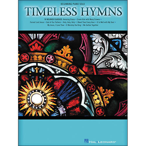 Hal Leonard Timeless Hymns - Beginning Piano Solos
