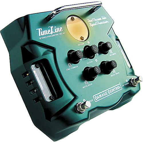 Damage Control Timeline Dual Tube Stereo Parametric Delay