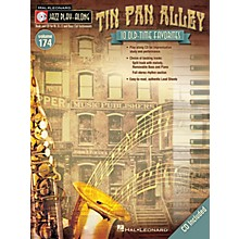Hal Leonard Tin Pan Alley (Jazz Play-Along Volume 174) Jazz Play Along Series Softcover with CD Composed by Various