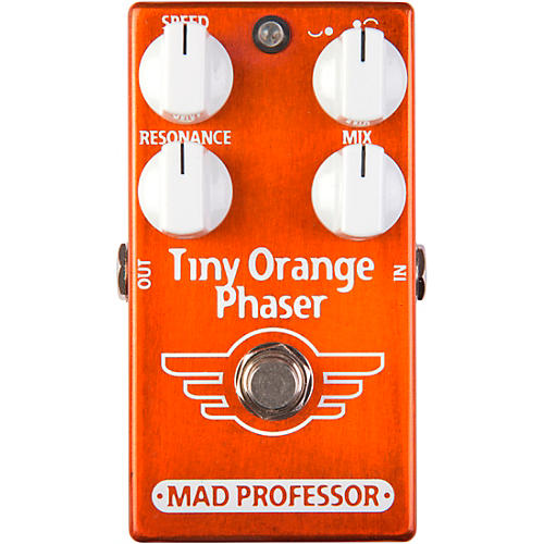Mad Professor Tiny Orange Phaser Effects Pedal