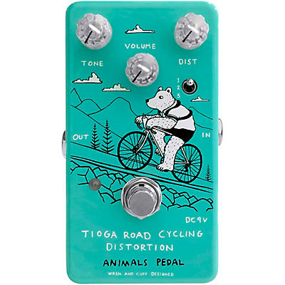 Animals Pedal Tioga Road Cycling Distortion Effects Pedal