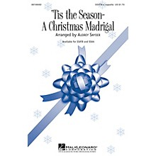 Hal Leonard Tis the Season - A Christmas Madrigal SSAA A Cappella Arranged by Audrey Snyder