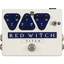 Open Box Red Witch Titan Delay Guitar Effects Pedal