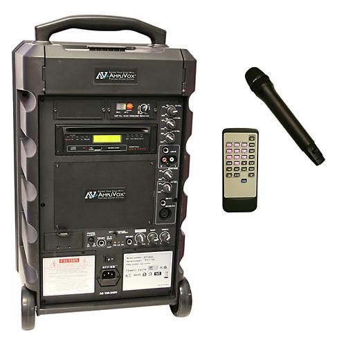 Amplivox Titan Wireless 100 Watt Portable PA System Condition 1 - Mint Black