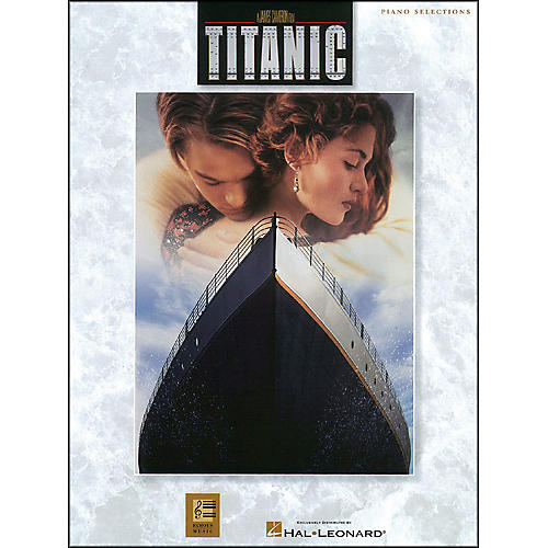 Hal Leonard Titanic Movie Selections arranged for piano, vocal, and guitar (P/V/G)