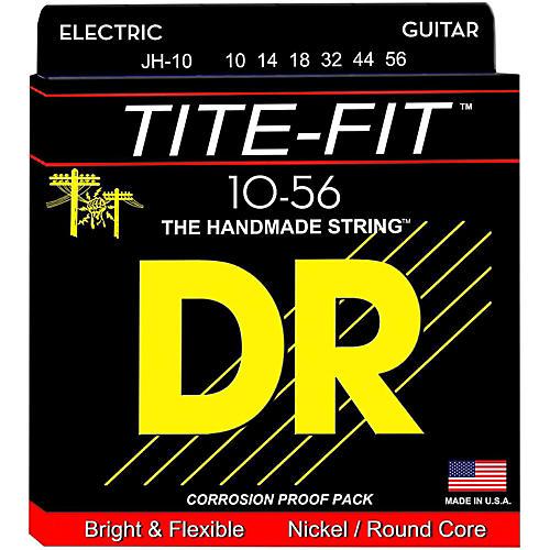 DR Strings Tite-Fit JH-10 Jeff Healey Medium Nickel Plated Electric Guitar Strings
