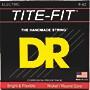 DR Strings Tite-Fit LT-9 Lite-n-Tite Nickel Plated Electric Guitar Strings